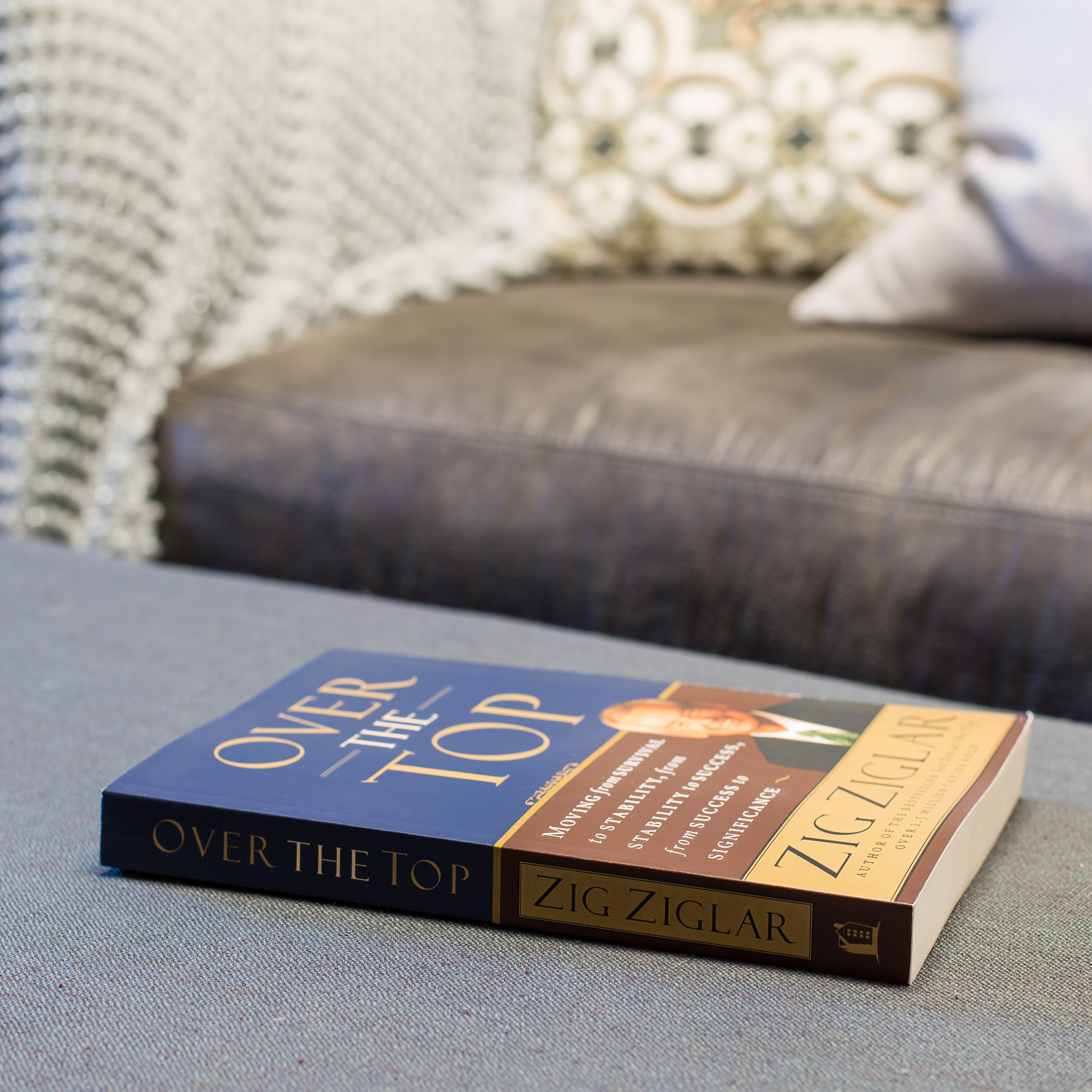 zig ziglars over the top essay After 32 years as the heart and soul of a business, zig ziglar is handing over his company to his son and son-in-law ziglar, the internationally known motivational speaker, is giving up his day.