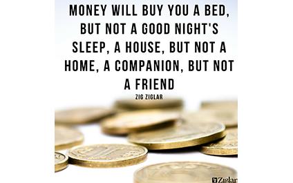 Money Isn't Enough
