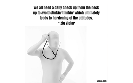 We All Need a Daily Check-Up