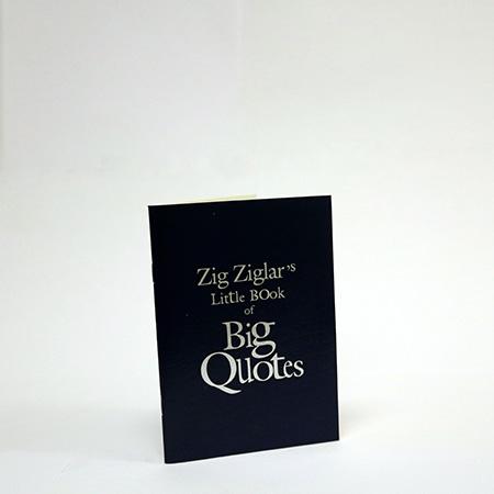 Book Of Quotes Simple Ziglar Inc Zig Ziglar's Little Book Of Big Quotes