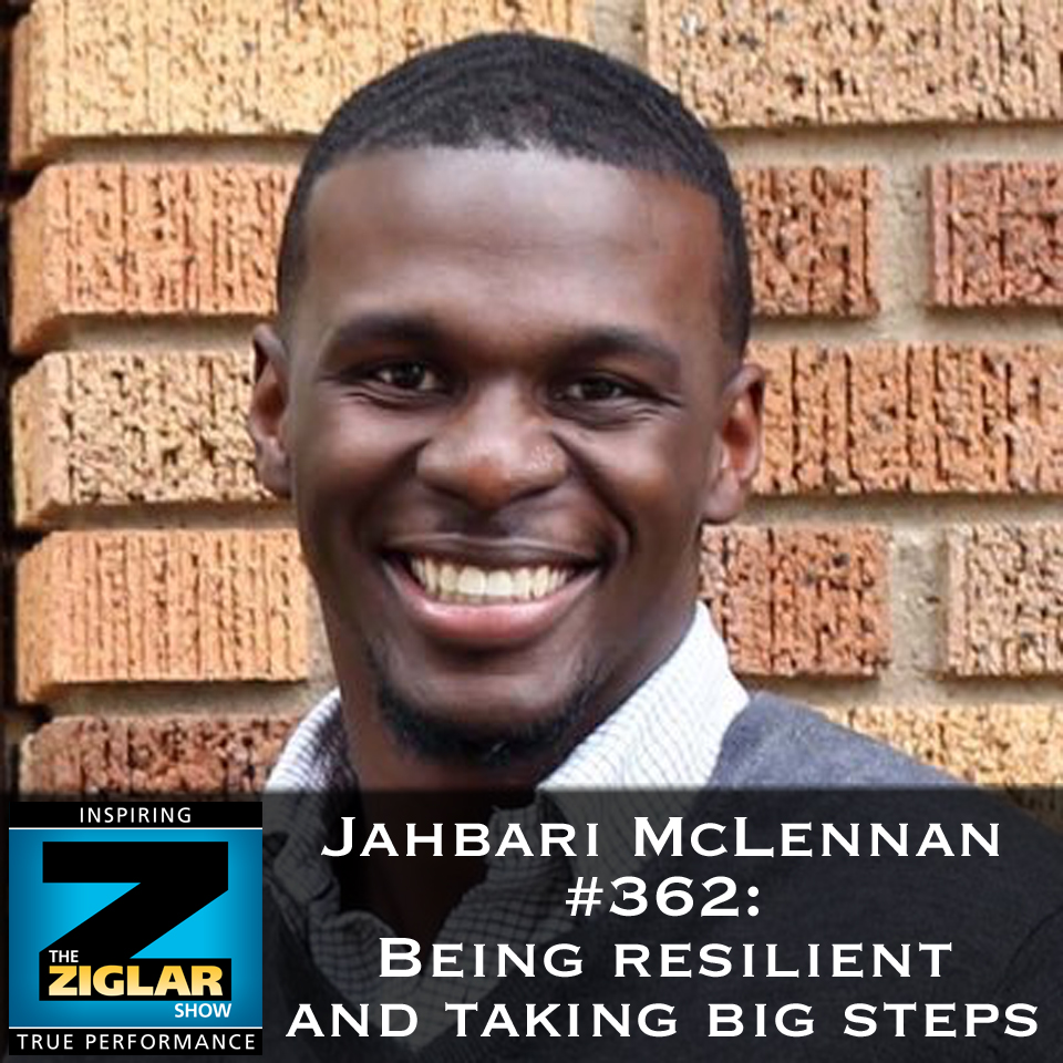 Show #362: Being resilient and taking big steps