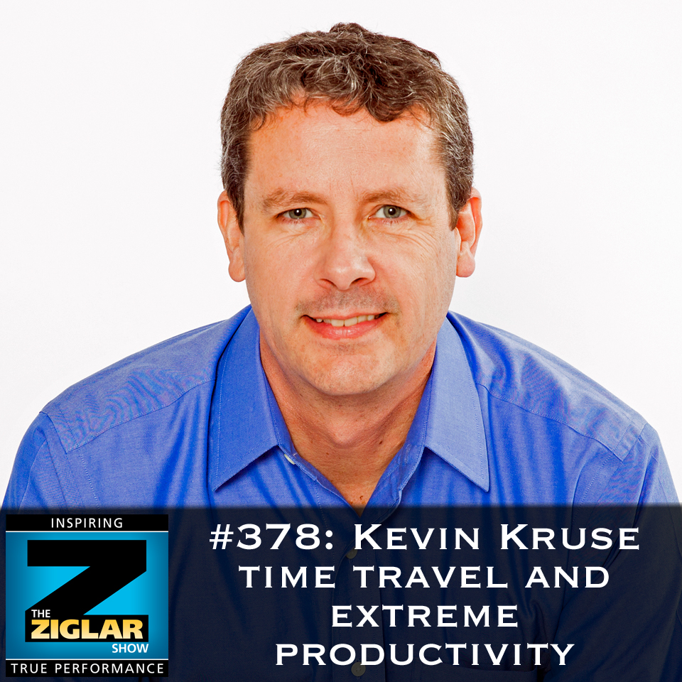 Show #378: Kevin Kruse, time travel and extreme productivity