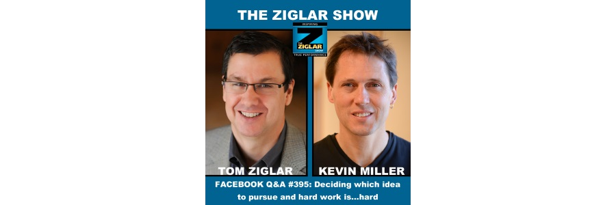 Show #395: Q&A Show: Deciding which idea to pursue and hard work is…hard