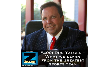 Show #409: Don Yaeger – What we learn from the greatest sports teams