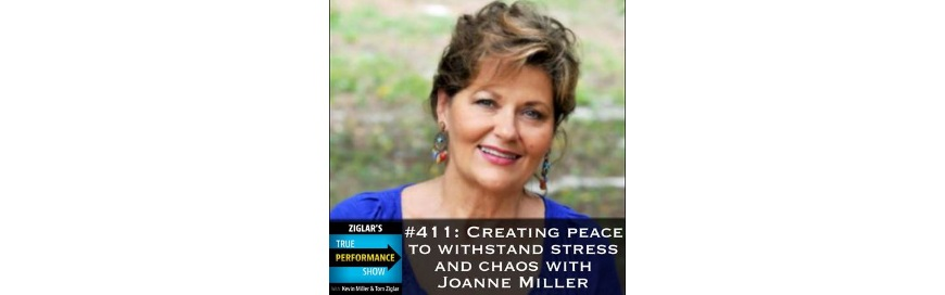 Show #411: Creating peace to withstand stress and chaos